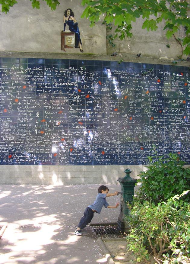 Le Mur des Je T'Aime, Montmartre, Paris June 2009 © ksmorrelle 2009